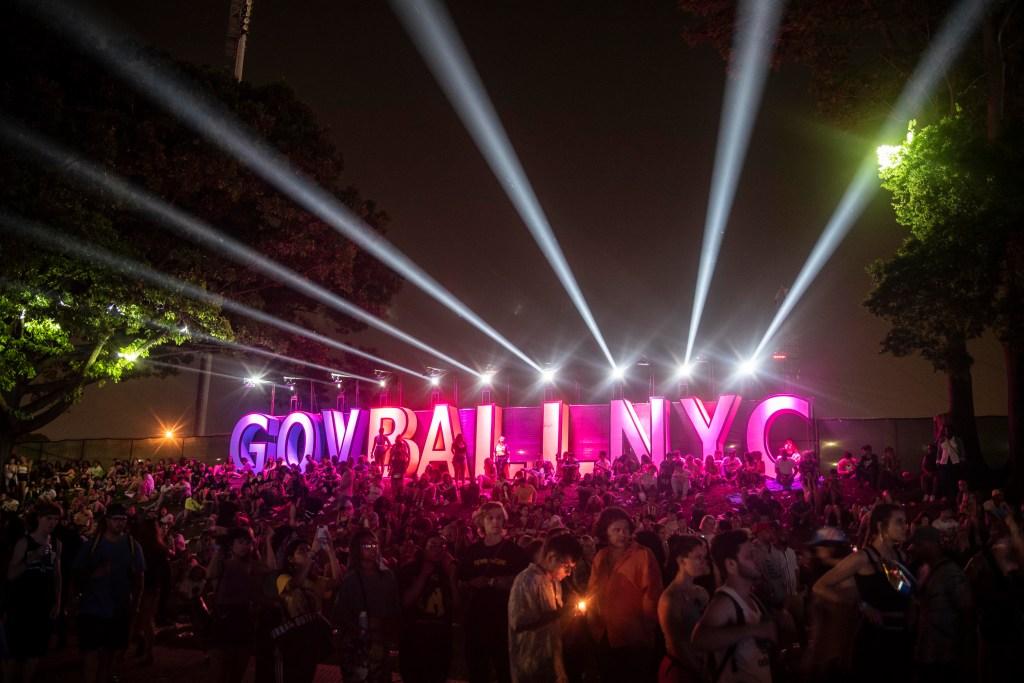 Governors Ball Music Festival on Randall's Island, New York City.
