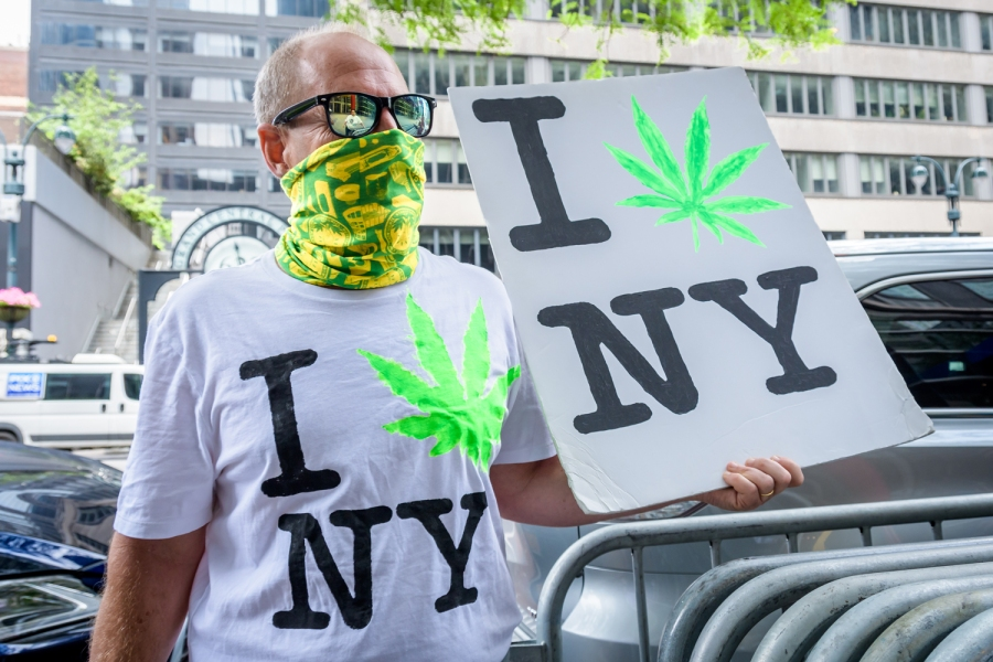 Weed Map: Status of Pot Legalization Across America