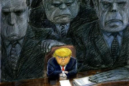 Trump Russia and democracy Titelbild