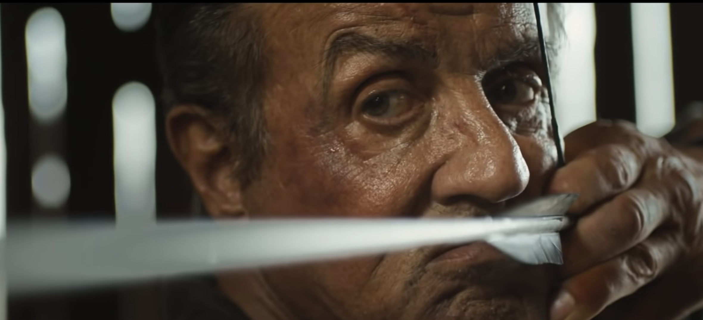 Watch Sylvester Stallone Face His Past in First 'Rambo 5
