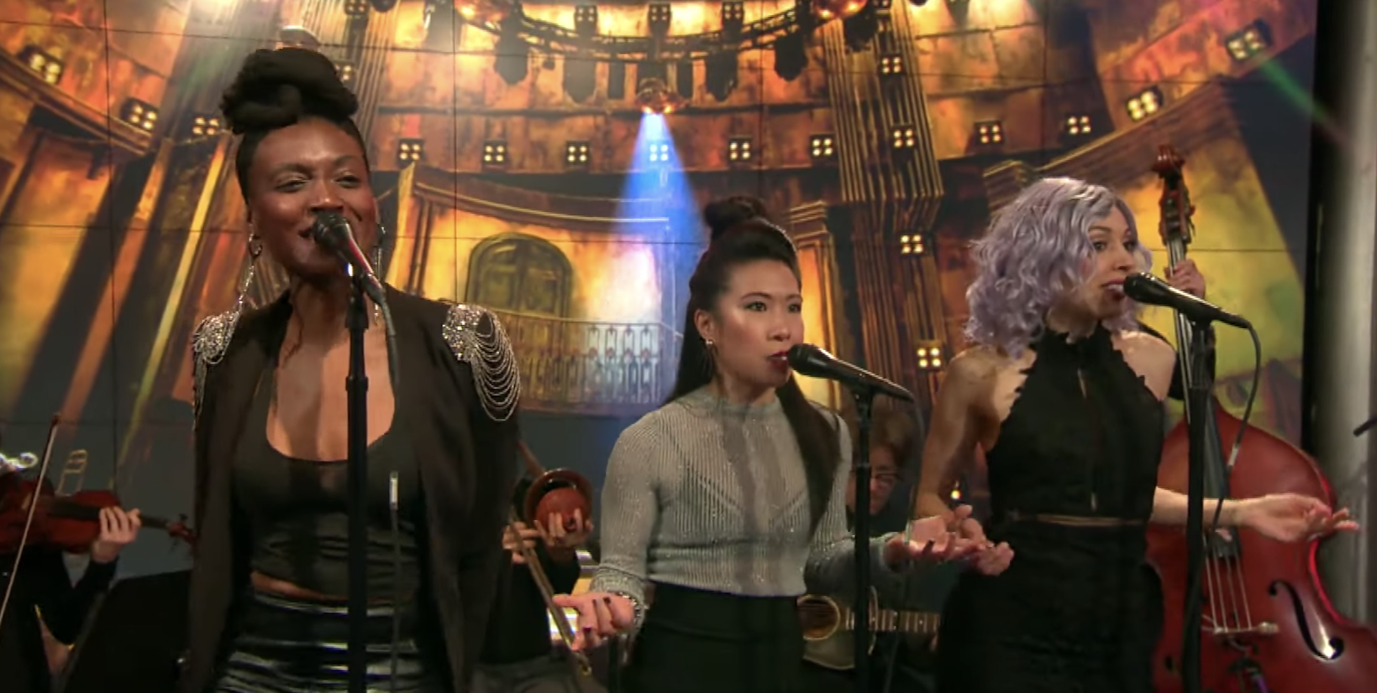 Watch 'Hadestown' Cast Perform Two Songs on 'CBS This