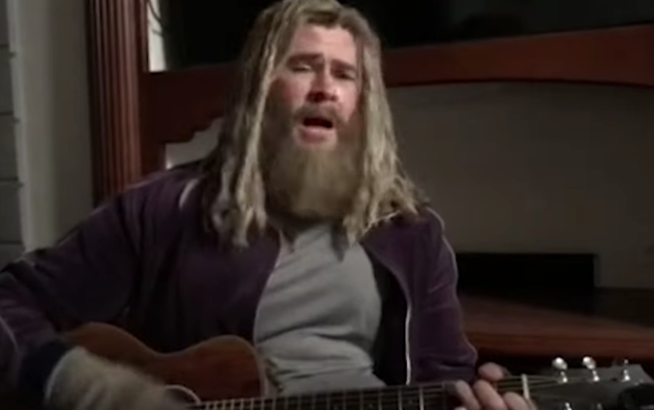 Watch Chris Hemsworth Cover 'Hurt' as Fat Thor on 'Fallon