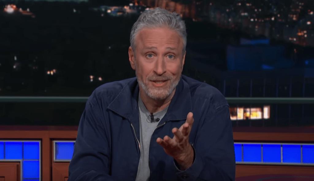 Watch Jon Stewart Tear Into Mitch McConnell on 'Colbert'