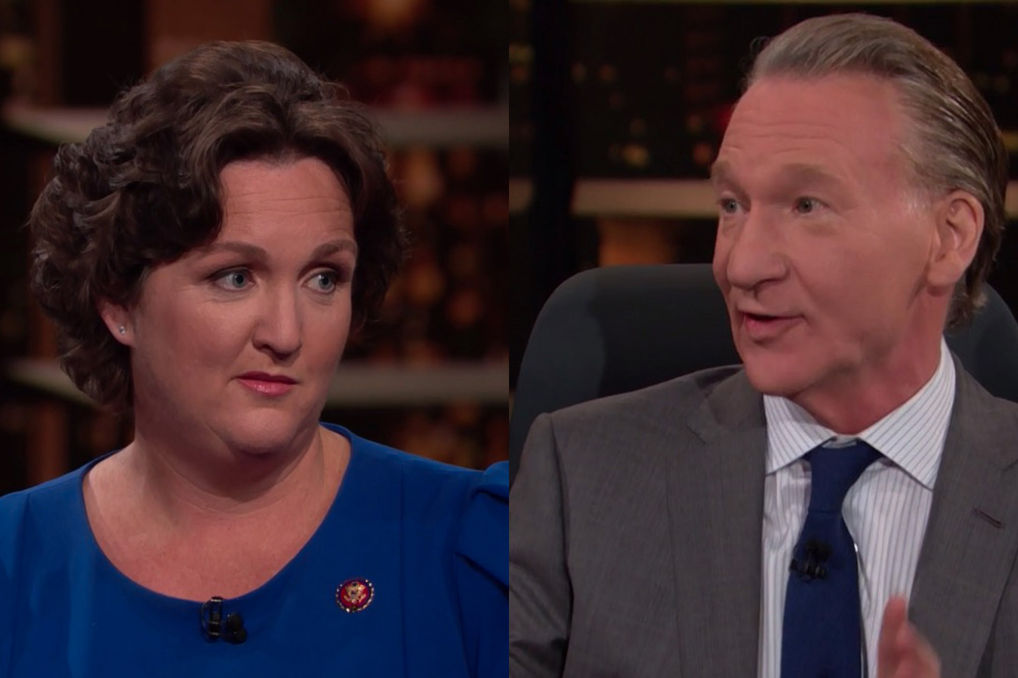 Freshman Rep. Katie Porter Hilariously Takes Down Both Biden and Maher in Two Minutes