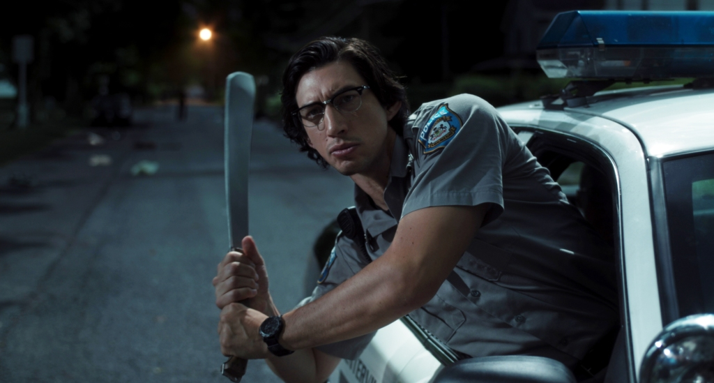 "Adam Driver stars as ""Officer Ronald Peterson"" in writer/director Jim Jarmusch's THE DEAD DON'T DIE, a Focus Features release. Credit : Frederick Elmes / Focus Features © 2019 Image Eleven Productions, Inc."