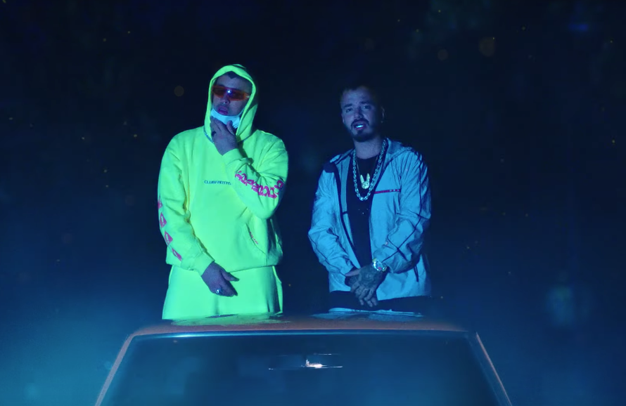 See Bad Bunny, J Balvin Walk on the Wild Side in 'Qué
