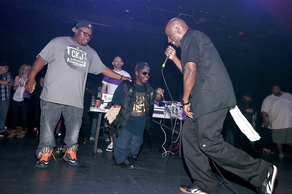 AUSTIN, TX - JANUARY 26: (L - R) Scarface, Bushwick Bill and Willie D of the Geto Boys perform in concert at Emo's on January 26, 2013 in Austin, Texas. (Photo by Gary Miller/FilmMagic)