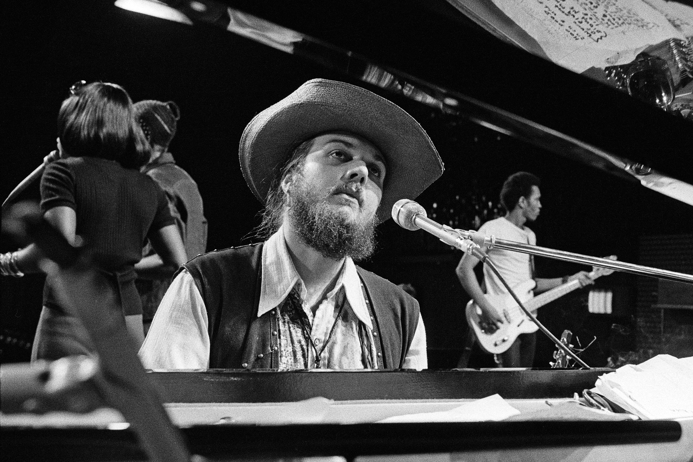 American singer-songwriter, pianist and guitarist, Dr. John performing at the Montreux Jazz Festival in Montreux, Switzerland, 1st July 1973. (Photo by Michael Putland/Getty Images)