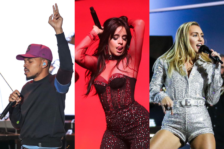 Miley Cyrus Alicia Keys Cage The Elephant Lead 2019