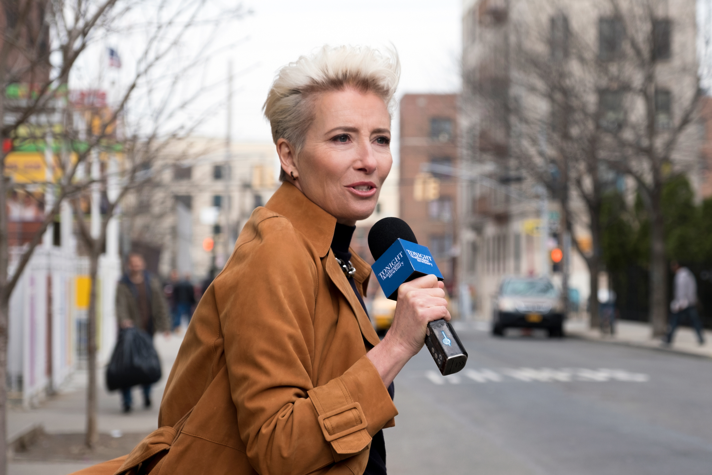 Emma Thompson Plays a Fearsome Lady Boss in 'Late Night'