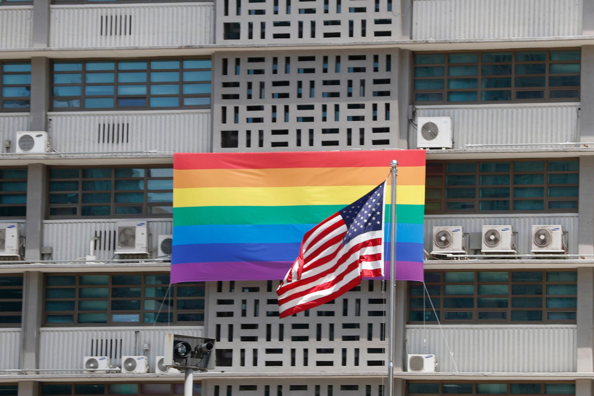 Trump Administration Blocks Embassies From Flying LGBTQ Flags for Pride Month