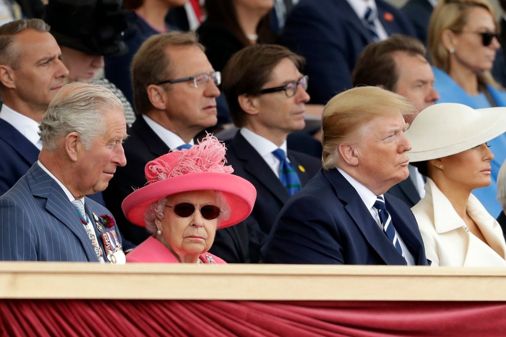 The Royal Family… and the Trumps.