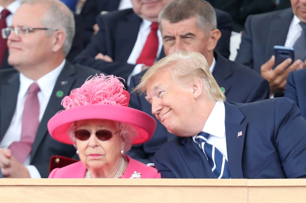 Trump was seated next to Queen Elizabeth during an even commemorating the 75th anniversary of D-Day. Queen Elizabeth could not be reached for comment.
