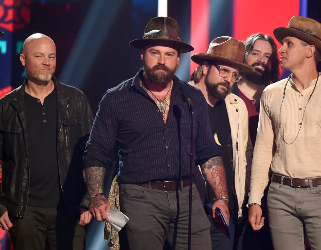 Zac Brown Band - Group Video of the Year - 'Someone I Used To Know'CMT Music Awards, Show, Bridgestone Arena, Nashville, USA - 05 Jun 2019