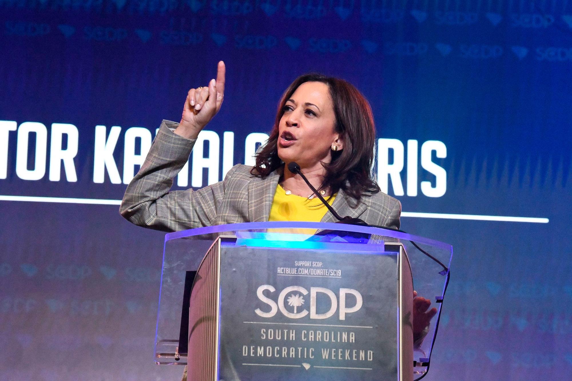 Kamala Harris Lays Out Trump's 'Rap Sheet' in Fiery Speech