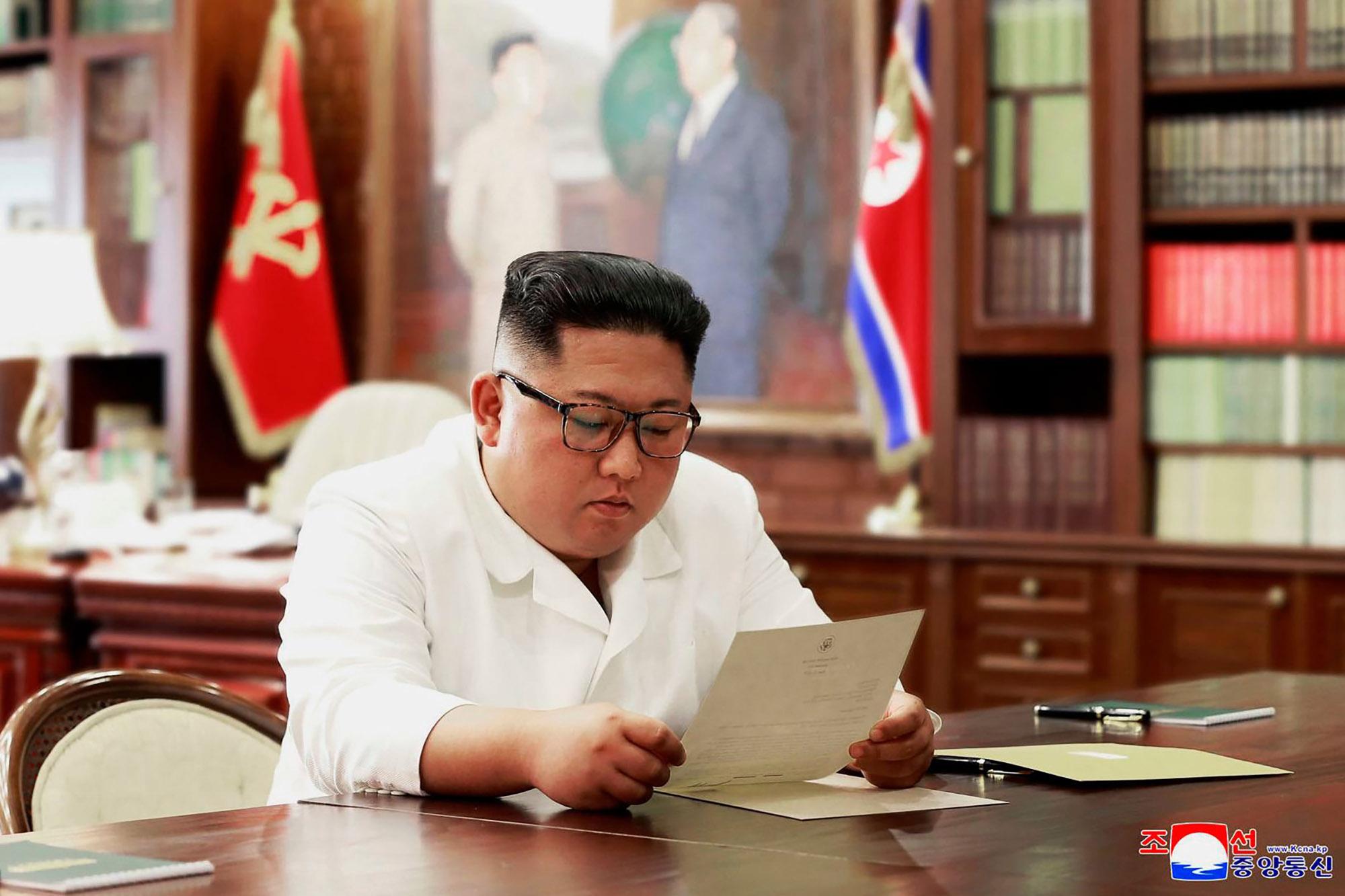 Trump and Kim Jong-un Are Pen Pals