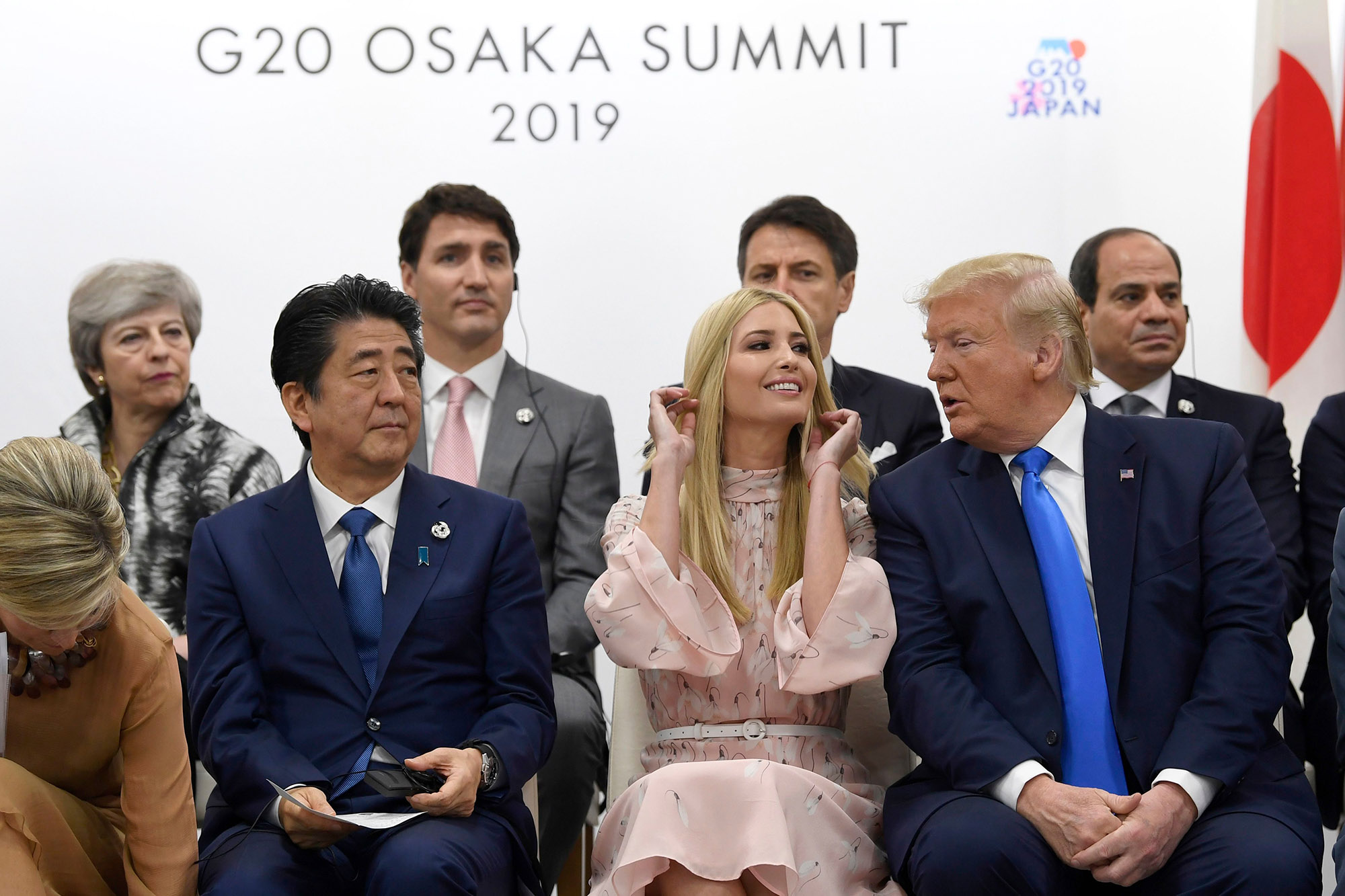 Image result for ivanka and world leaders