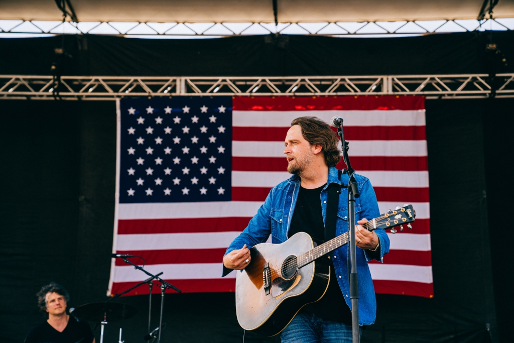 Willie Nelson's Fourth of July Picnic at the Austin360 Amphitheater in Austin, Texas on July 4th, 2019.
