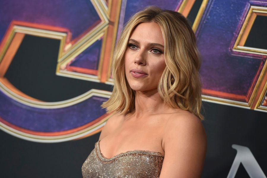 """Scarlett Johansson arrives at the premiere of """"Avengers: Endgame"""" at the Los Angeles Convention Center onLA Premiere of """"Avengers: Endgame"""" - Arrivals, Los Angeles, USA - 22 Apr 2019"""