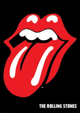 Rolling Stones Hot Lips Poster