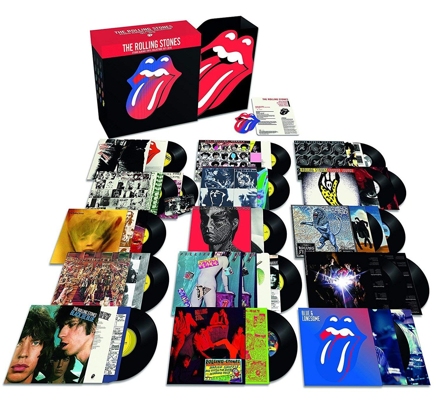 Rolling Stones Vinyl Collection