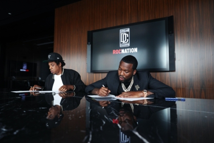 Jay-Z and Meek Mill Unveil New Roc Nation Record Label
