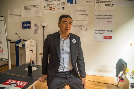 Andrew Yang's Wild Ride and the Search for a Freedom