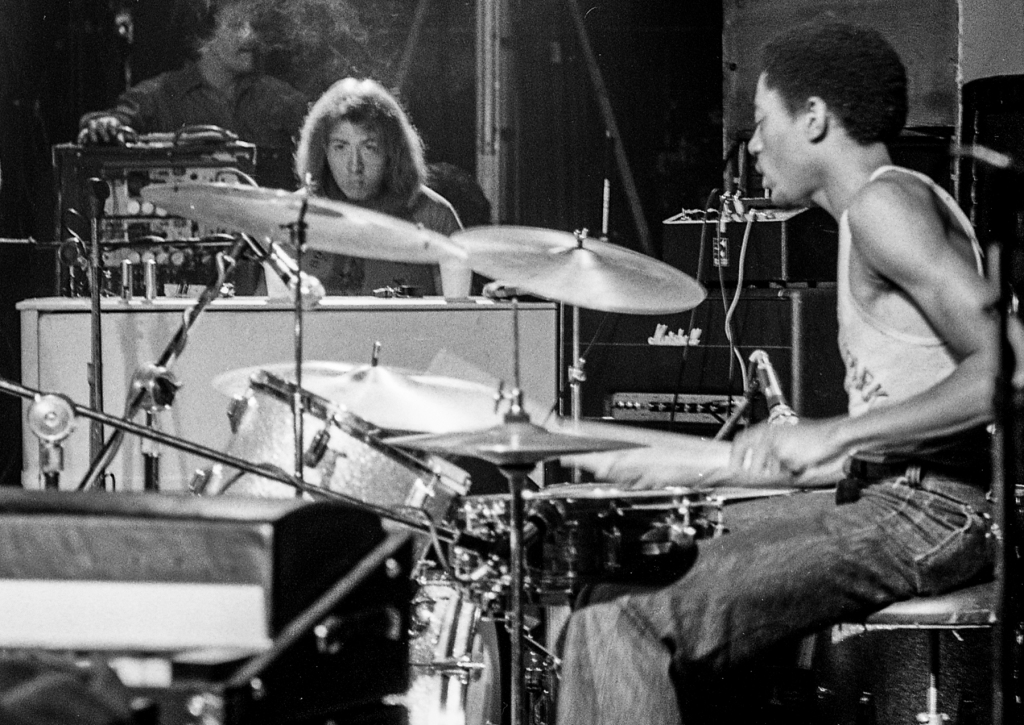 """They played an early rendition of """"Born To Run"""" that night, which wound up being the only studio song that Carter drummed on before quitting the group. """"The drumming on that song is just incredible — intricate, propulsive, and powerful,"""" says Phillips. """"And it displays nicely how Ernest was a bridge between the looser, jazzier drumming of Mad Dog [Vini Lopez] and the straightforward mightiness of Max [Weinberg.]"""""""