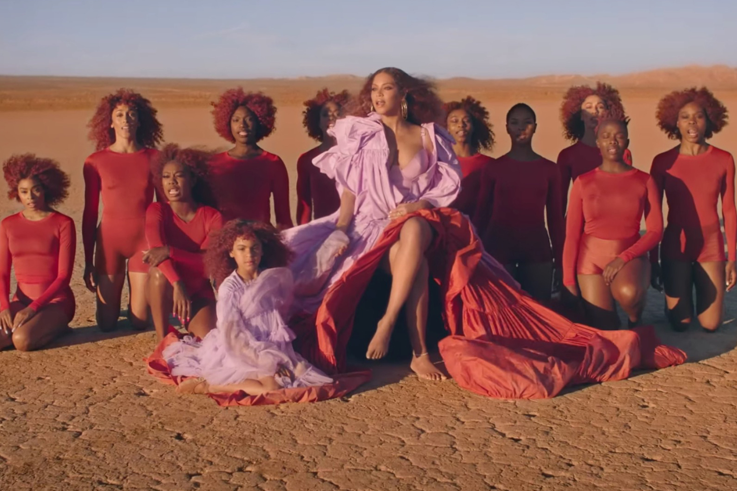 Beyoncé Releases Double Music Video for 'Lion King' Songs