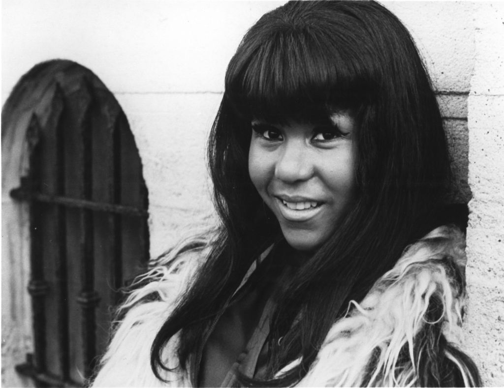Clydie King Photo, 1970.