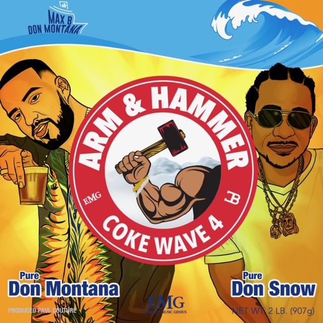 French Montana and Max B Made 'Coke Wave 4' in a Week