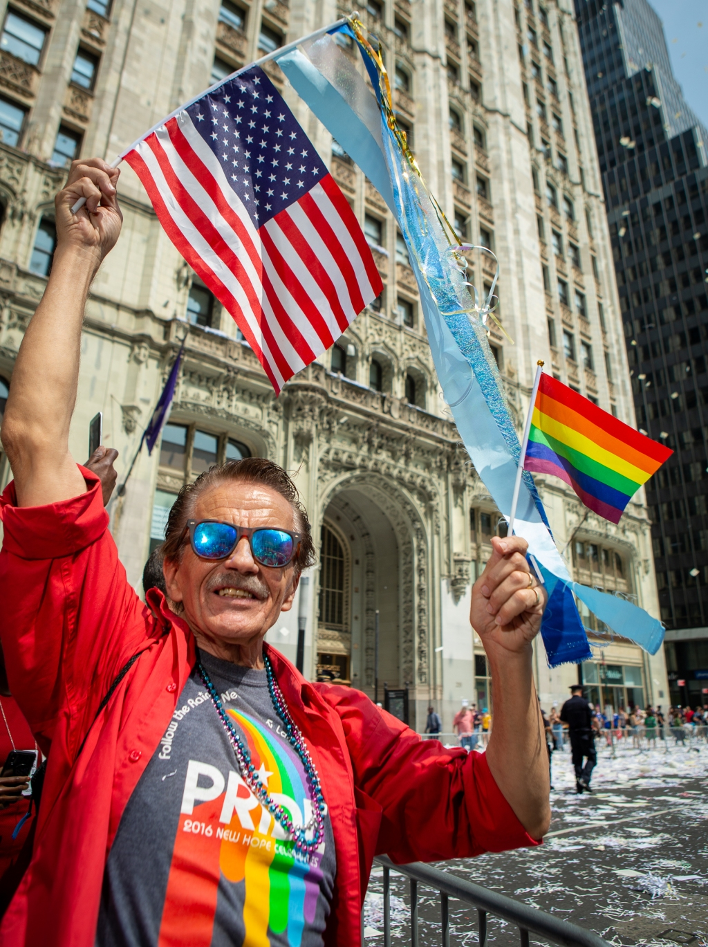 """""""This represents going forward in the world, for better equality,"""" says Ron Raz, 69, from San Francisco. """"It's hopeful, its a step forward."""""""