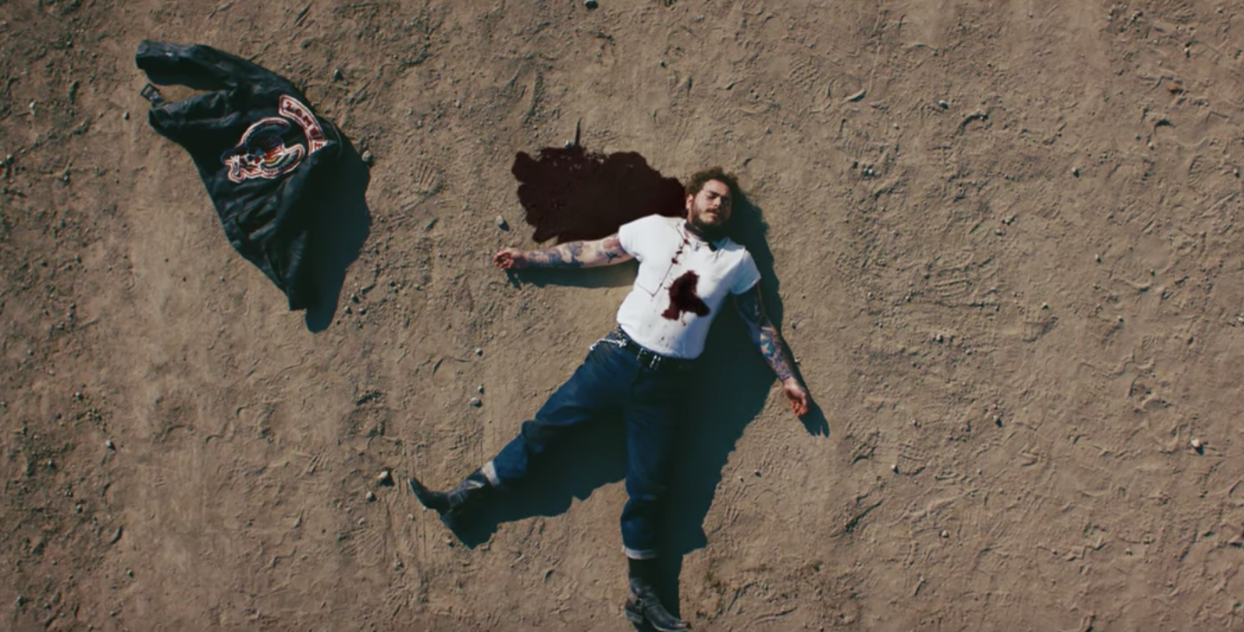 Watch Post Malone Come Back From the Dead in 'Goodbyes