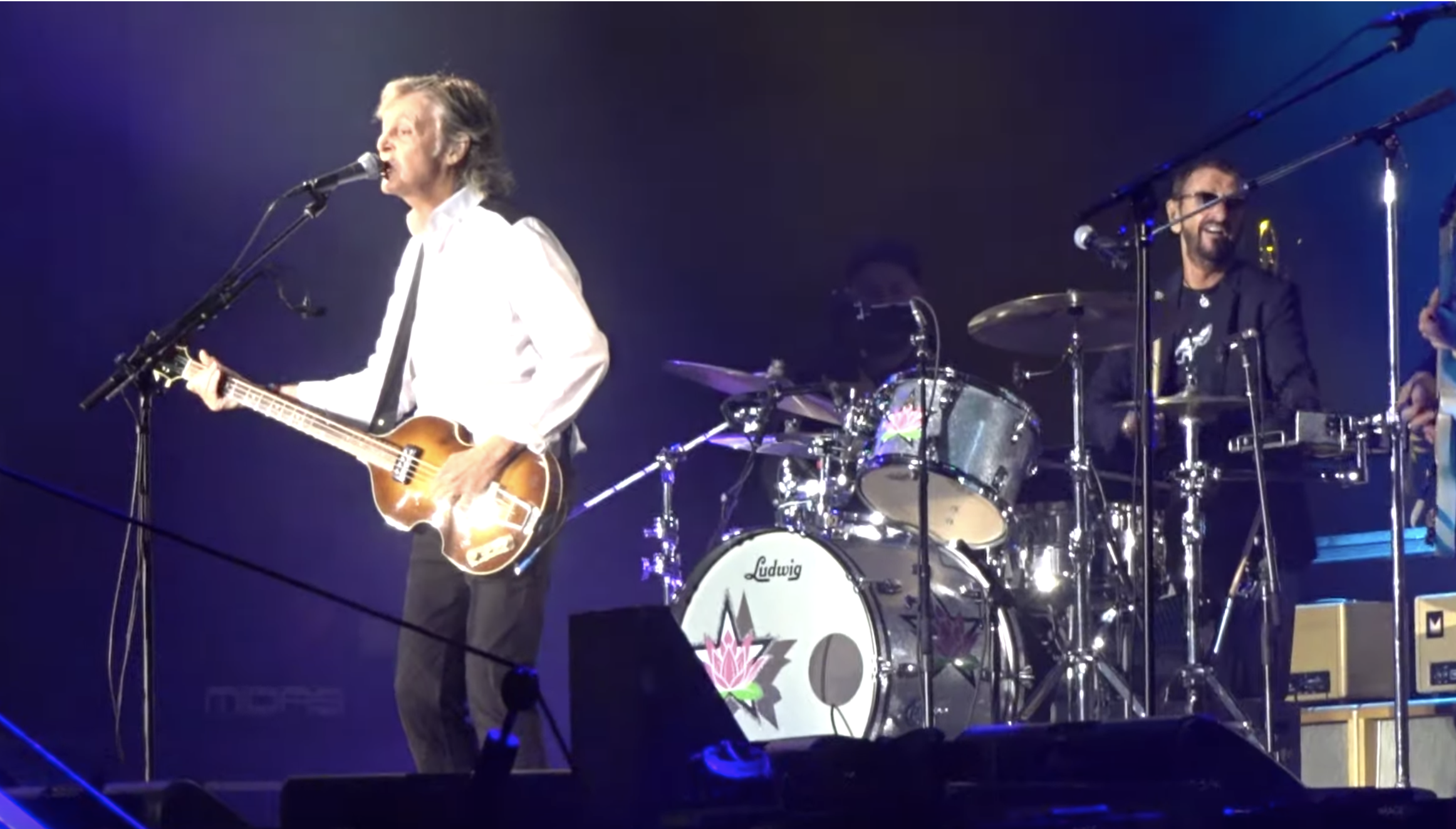 See Paul McCartney Reunite With Ringo Starr to Play Beatles Classics at L.A. Concert