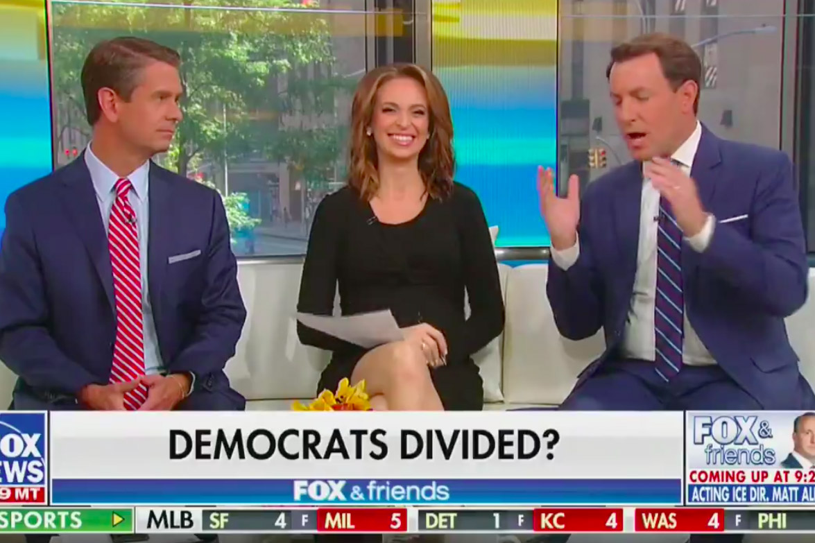 Fox News Delighted in Trump's Racist Tweet About AOC Squad