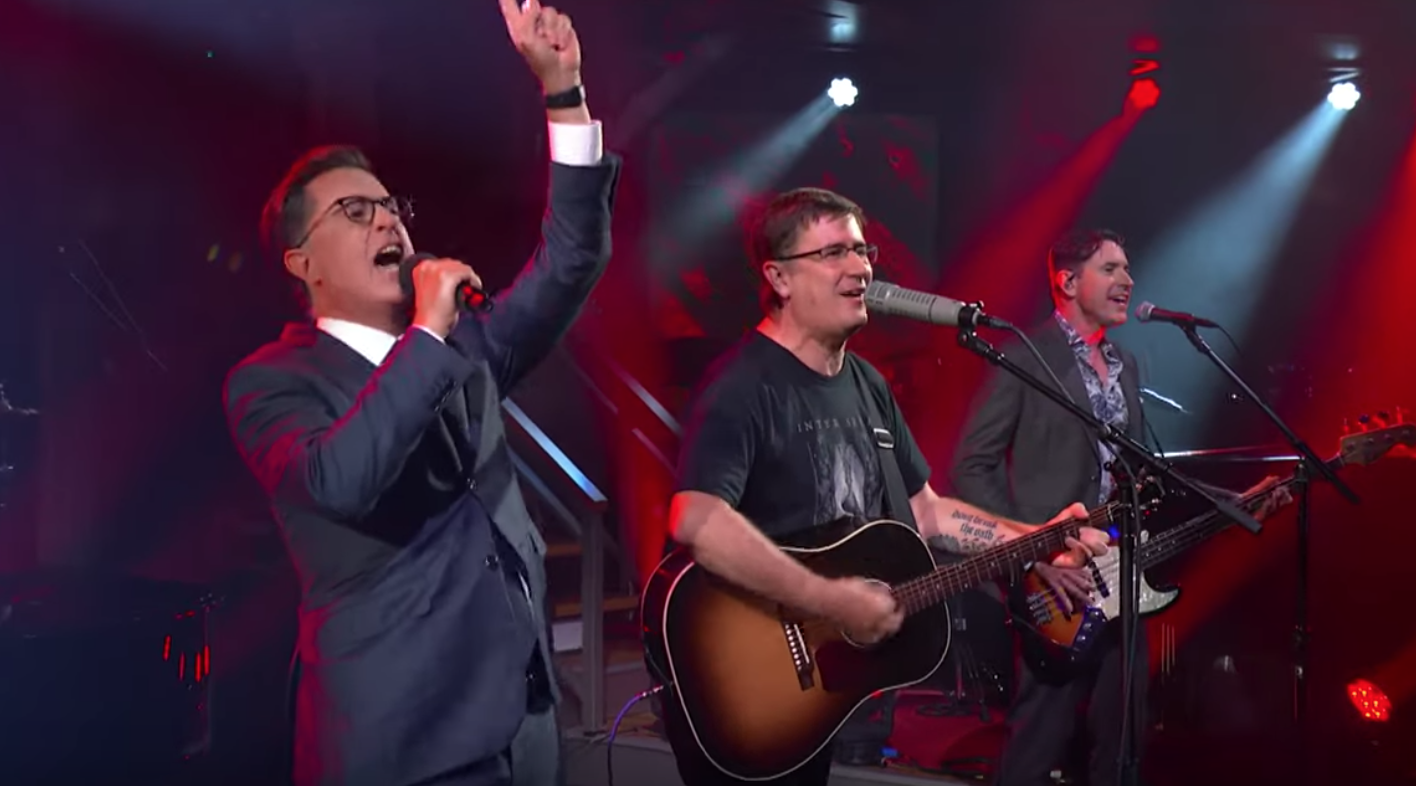 Watch Stephen Colbert Perform This Year With The