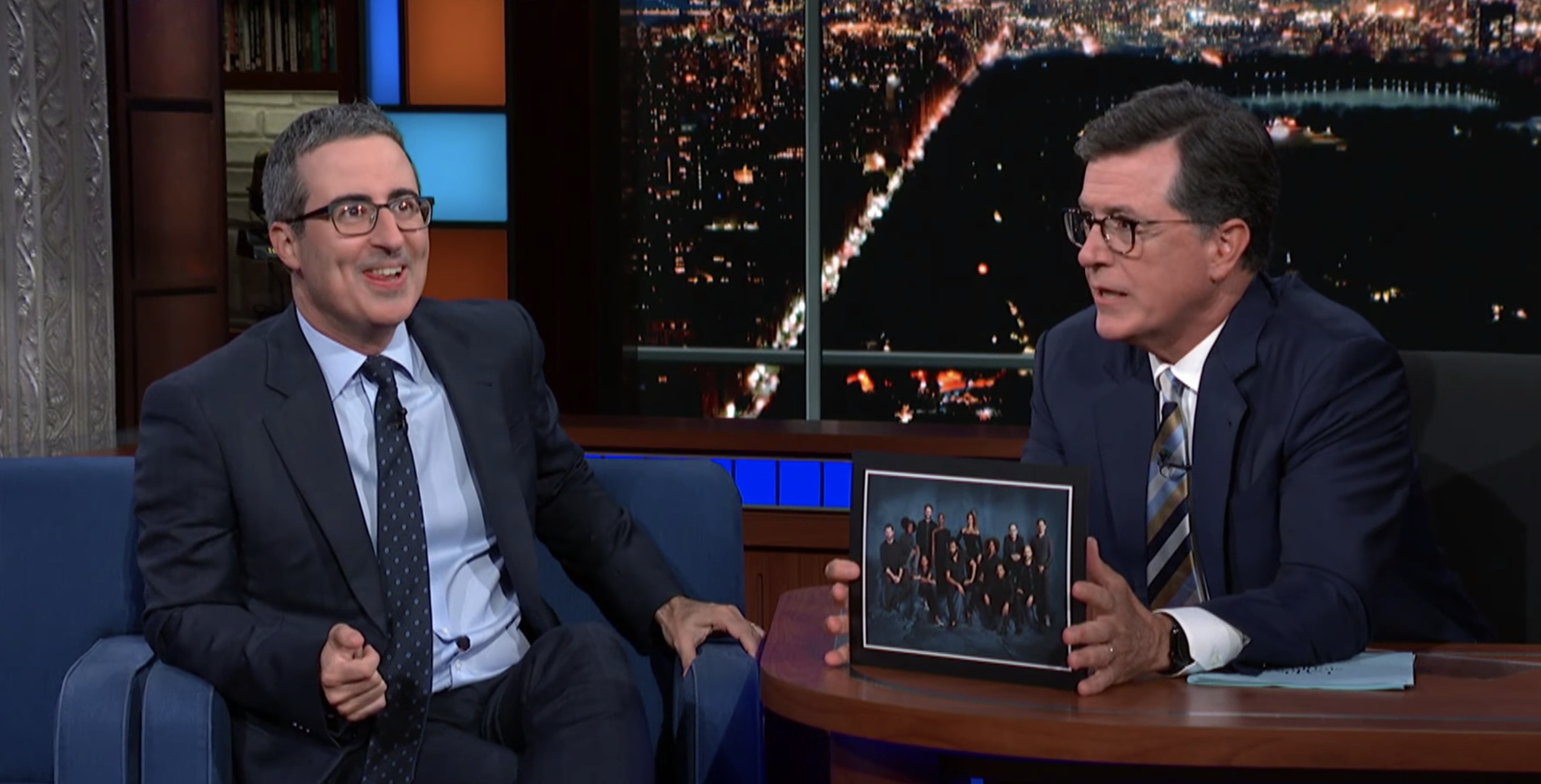 John Oliver Talks Lion King And Not Meeting Beyonce On