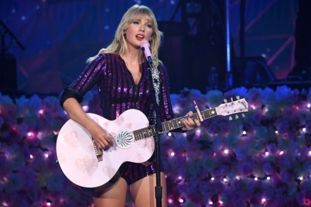 Taylor Swift Brings Spectacle to Amazon Music's Prime Day Concert