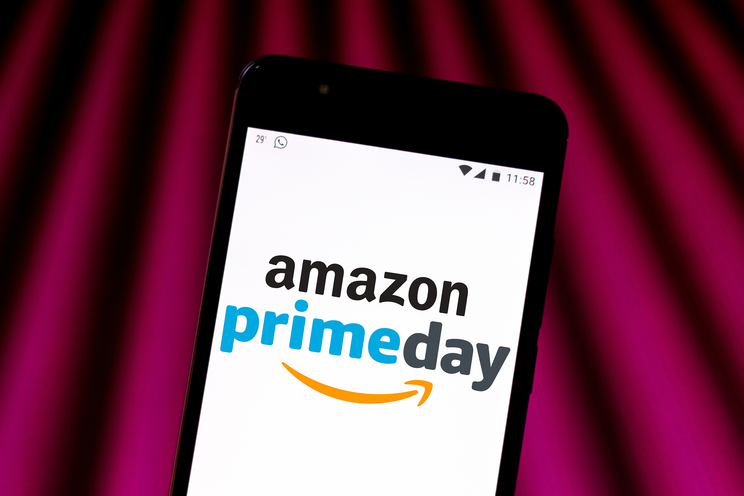 17783aa93b97 BRAZIL - 2019/06/28: In this photo illustration the Amazon Prime Day