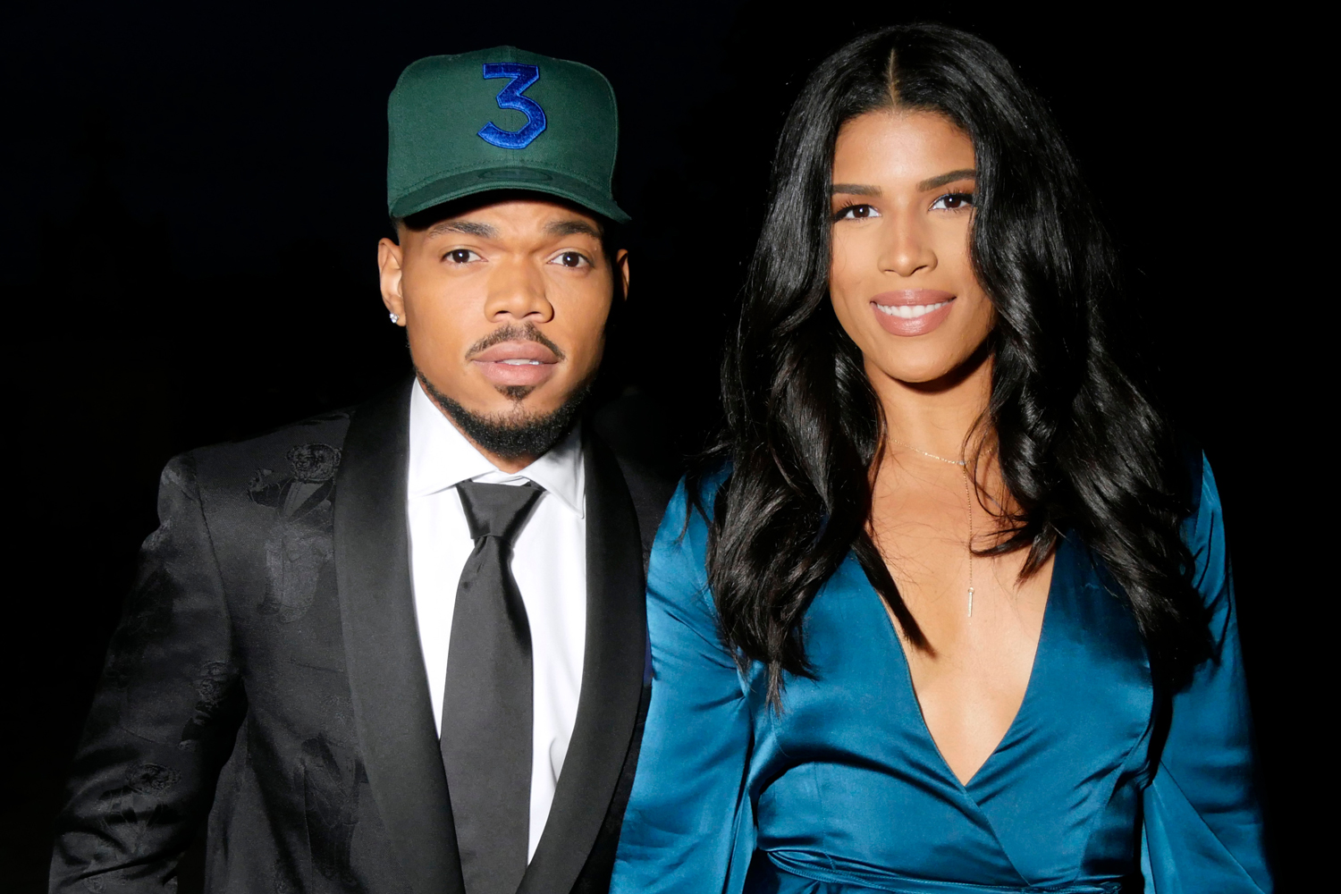 who is chance the rapper married to