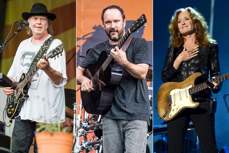 Neil Young, Dave Matthews, Bonnie Raitt to Headline Farm Aid 2019