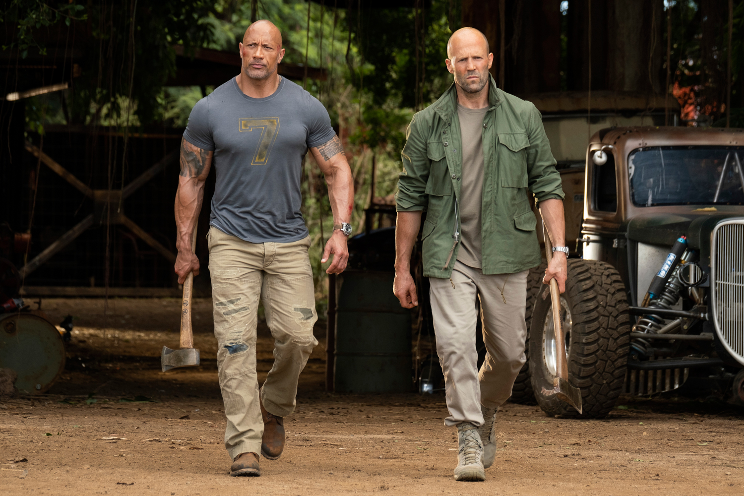 'Hobbs & Shaw': 'Fast & Furious' Spinoff Brings Surreal Silliness