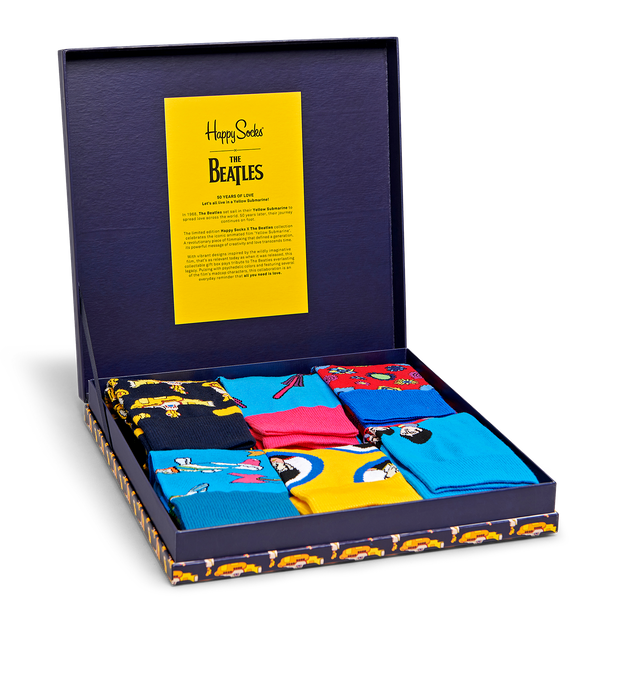 The Beatles Happy Socks Box Set