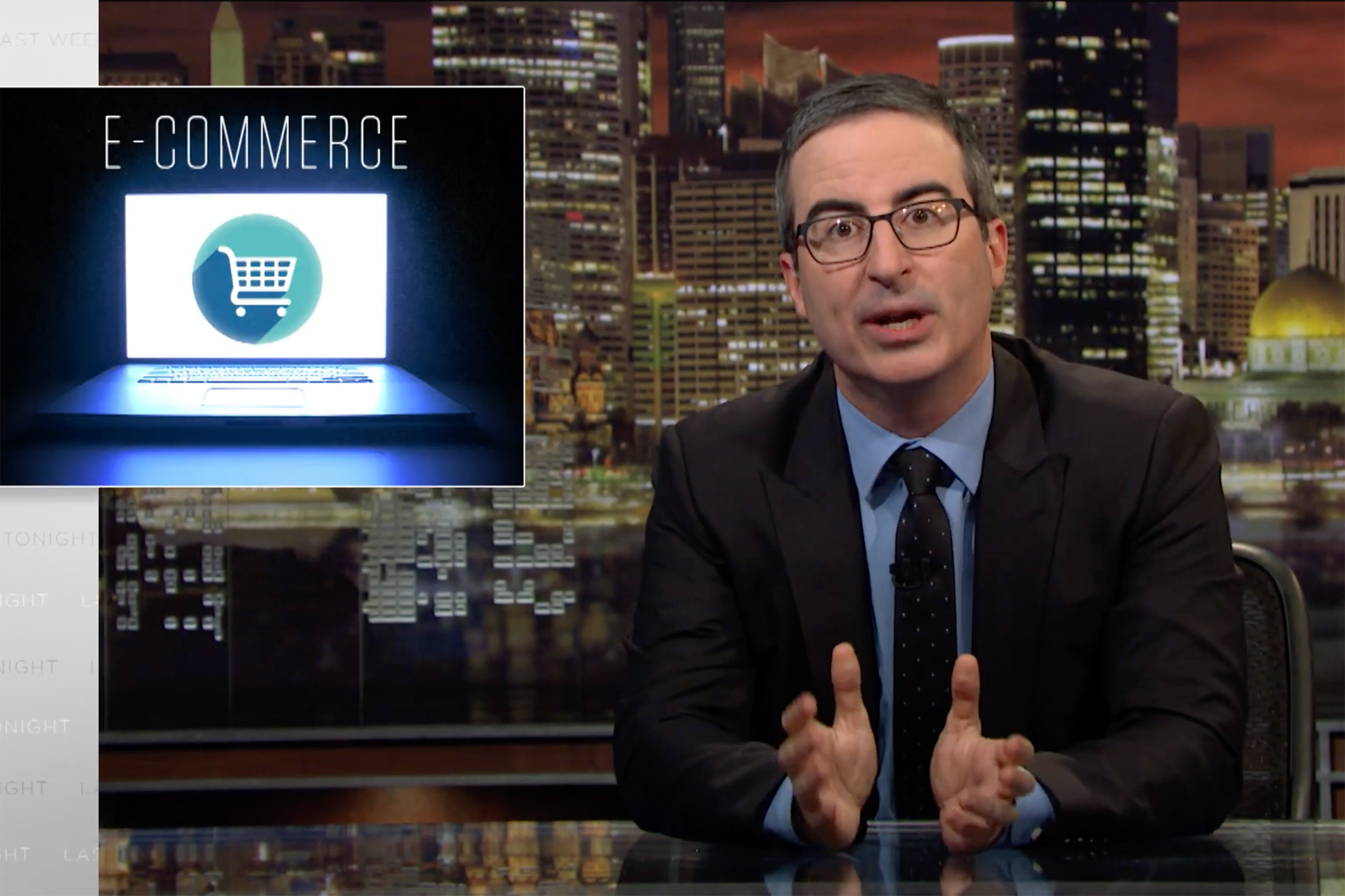 John Oliver on Amazon: 'Convenience Comes With a Real Cost