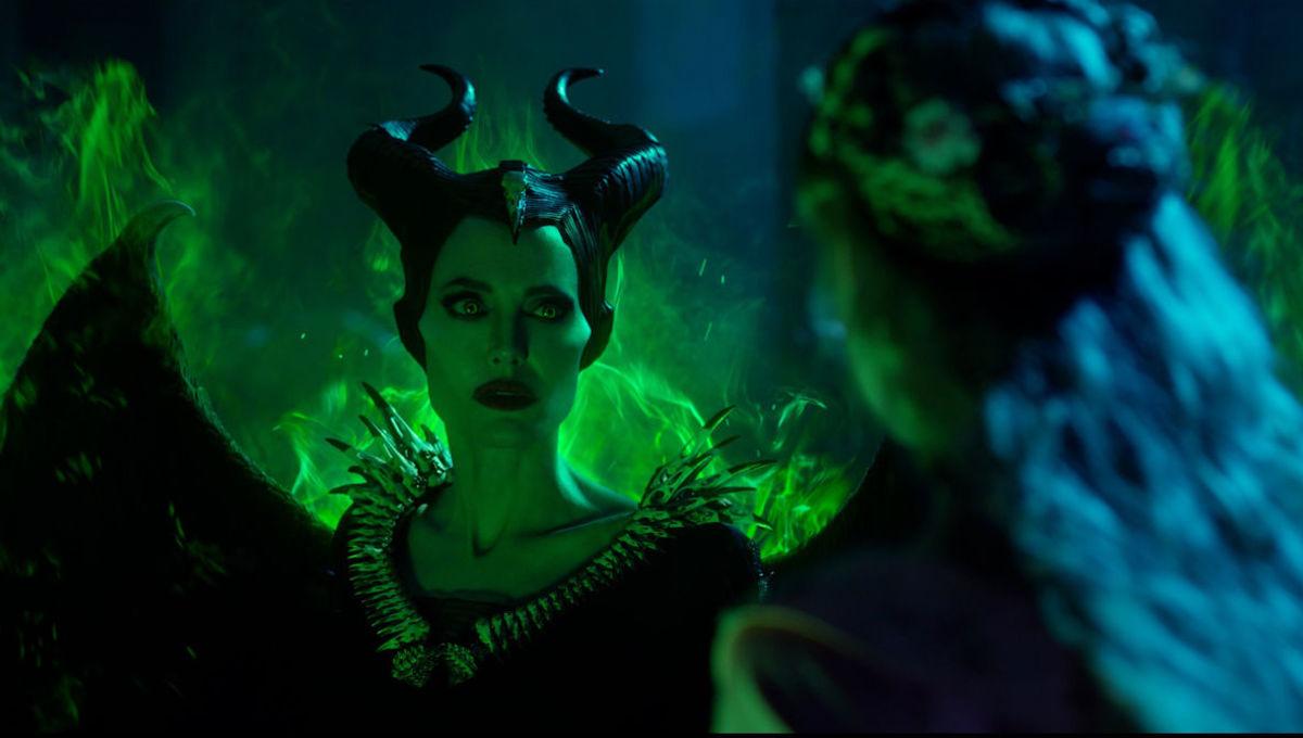 Angelina Jolie Battles Michelle Pfeiffer In New Maleficent