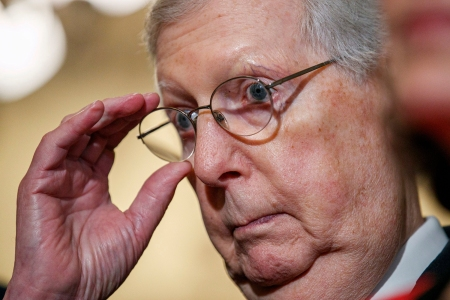 In Surprise Flip, Mitch McConnell Now Backs Effort to Defend U.S. Elections