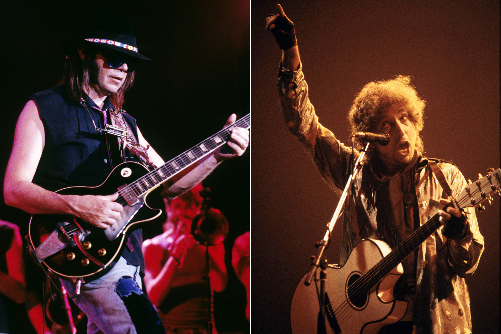 neil young bob dylan