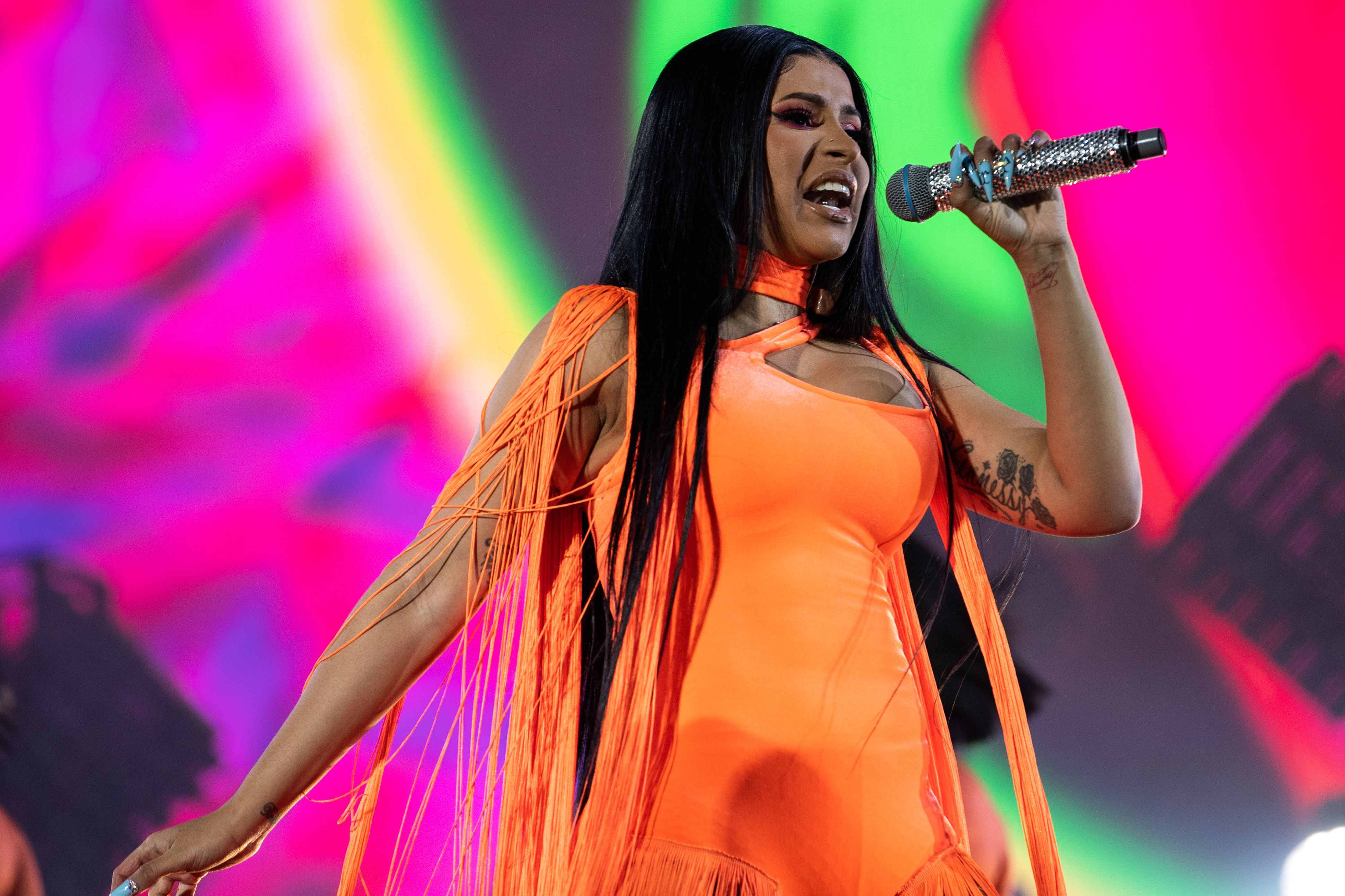 Cardi B Drops Unreleased Track For Daughter Kulture S Birthday