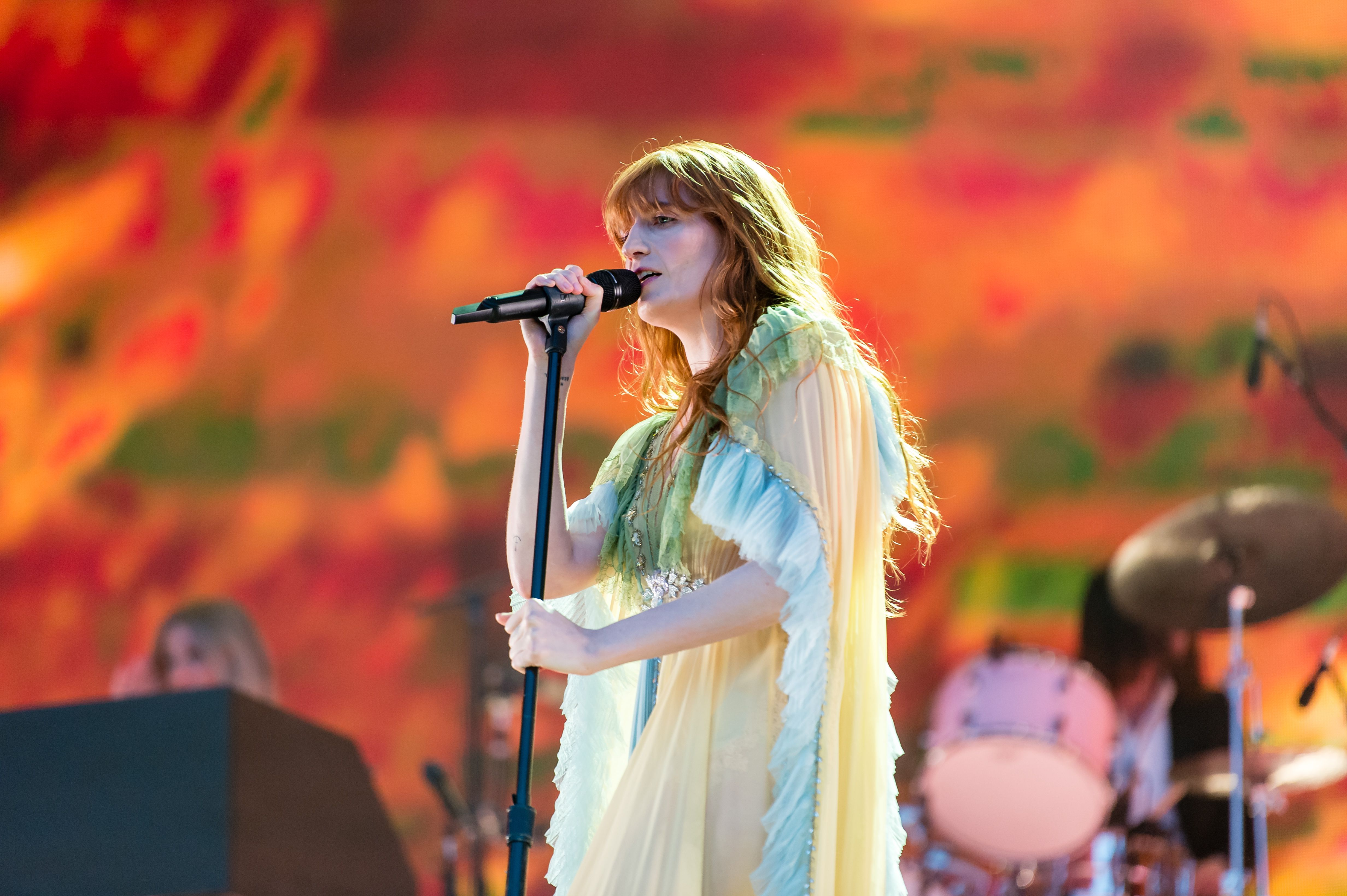 5fdf2b603 Florence and the Machine Praise the 'Matriarchy' in Hyde Park Show –  Rolling Stone