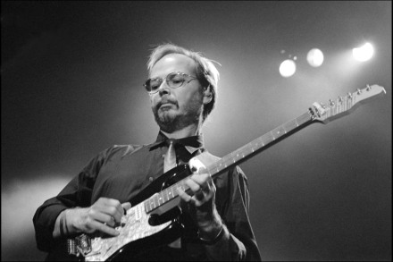Walter Becker of Steely Dan's Guitar Collection Heads to